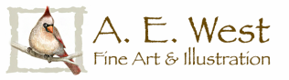 A. E. West Art & Illustration