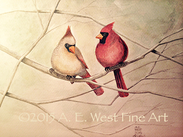 Cardinals by A. E. West